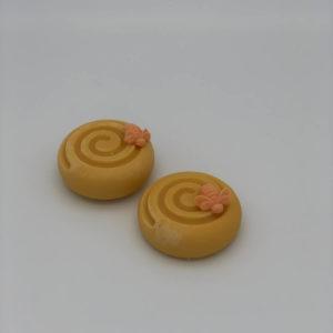 DirtyGirlSoap Orange Swirl Seife kaufen flensburg Lokal palmölfrei vegan handgemachte Rosie